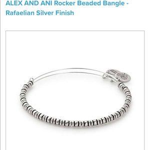 Alex and Ani Rocket Beaded bracelet